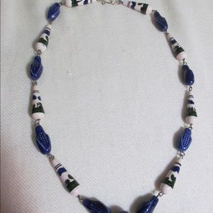 Jewelry - 5/$25 Llama Bead Corn Ceramic Necklace Peruvian